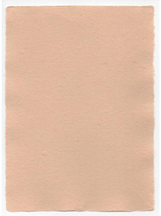 Üres merített papír - A/3, barna