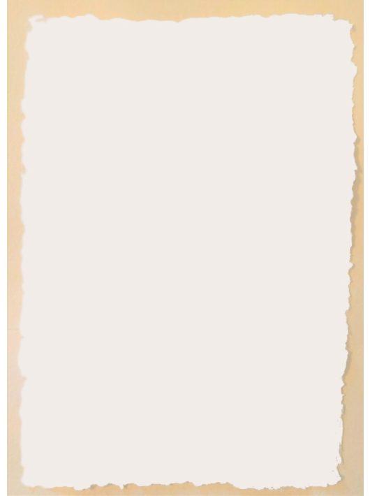 Üres merített papír - A/4, fehér