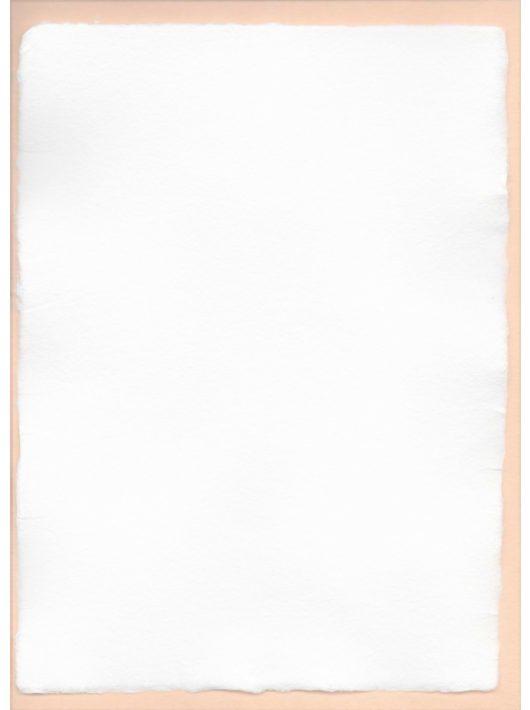Üres merített papír - A/6, fehér
